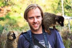Lemur man Stock Photos