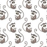 2018.01.10_Lemur royalty free illustration