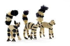 lemur tailed toys Royaltyfri Fotografi