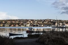 City of Lemvig, Denmark Royalty Free Stock Image