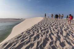 Lençóis Maranhenses National Park - Maranhão - Brazil Royalty Free Stock Photo