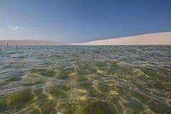 ³ Lençà национальный парк Maranhenses - Maranhão - Бразилия Стоковое фото RF