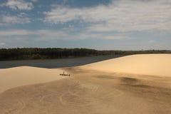 ³ Lençà Maranhenses: богачи пустыни в воде? Стоковая Фотография