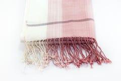 Lenço cor-de-rosa imagem de stock royalty free