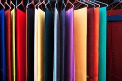 Lenço de seda Fotografia de Stock Royalty Free