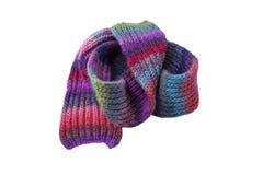lenço Multi-colorido do inverno fotografia de stock