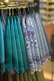 Lenços coloridos Imagem de Stock