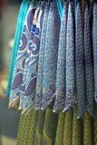 Lenços coloridos Imagens de Stock