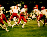 Len Dawson Kansas City Chiefs lizenzfreie stockbilder