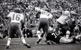 Len Dawson #16 und Otis Taylor #89, Kansas City Chiefs stockfoto