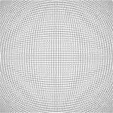 Len den abstrakta illusionen för vektorn vit textur Arkivbilder