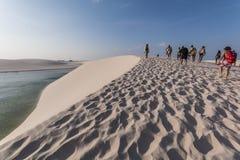 Lençóis Maranhenses National Park - Maranhão - Brazil Royalty Free Stock Photo