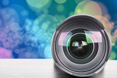 Len wide camera for photography Royalty Free Stock Photo