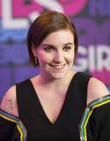 Lena Dunham Royaltyfri Fotografi