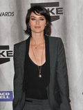 Lena Headey. Game of Thrones star Lena Headey at the 2011 Spike TV Scream Awards at Universal Studios, Hollywood. October 15, 2011 Los Angeles, CA Picture: Paul Royalty Free Stock Image