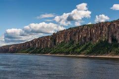 Lena Pillars National Park, Yakutia, Rússia Fotografia de Stock