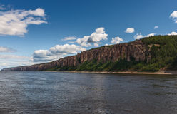 Lena Pillars National Park, Yakutia, Rússia Foto de Stock