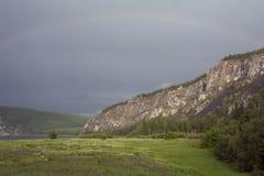 Lena River Royaltyfri Foto