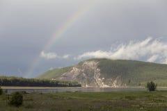 Lena River Royaltyfri Bild