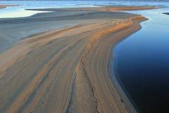 Lena River Fotografie Stock