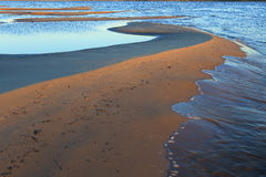 Lena River Fotografia Stock Libera da Diritti