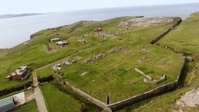 Lenan-Kopf-Fort Donegal Irland stock video