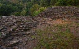 Lenape足迹,印第安人的痕迹,新泽西 免版税图库摄影