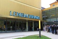Lenbachhaus στο Μόναχο Στοκ Εικόνες