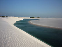 Lencoes Maranhense Royalty Free Stock Photography