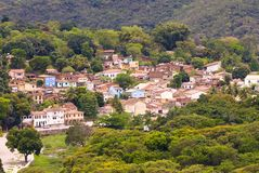 Lencois, Bahia - Brésil Photos libres de droits