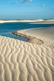 Lencois Maranhenses National Park, Brazil Royalty Free Stock Image
