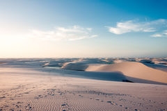 Lencois Maranhenses National Park, Brazil Stock Photography