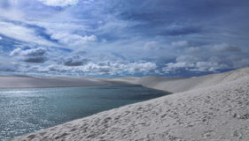 Lencois Maranhenses National Park Stock Photo