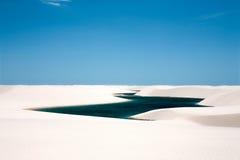 lencois maranheses国家公园 库存图片