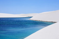 Lencois Maranheses Royalty Free Stock Photography