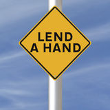 Lend A Hand Royalty Free Stock Image