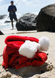 Lendemain de Noël Santa photo libre de droits