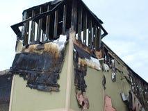 Lendemain de six alarmes Dallas Fire Photos stock