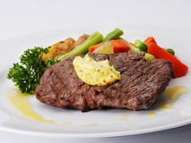 Lendenstücksteak Stockbild