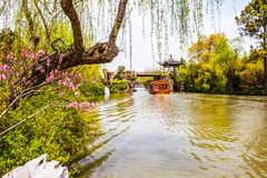Lender west lake in spring Royalty Free Stock Photo