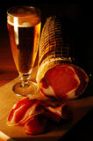Lendestuk van varkensvlees stock afbeelding