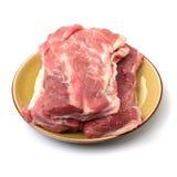 Lendestuk van varkensvleesvarkensvlees royalty-vrije stock afbeeldingen