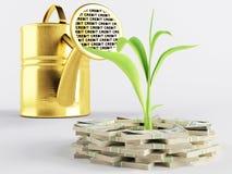 Lending дела Стоковые Фотографии RF