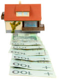 Lending for house purchase Royalty Free Stock Photos
