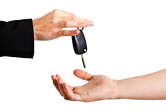 Lending key Stock Photography
