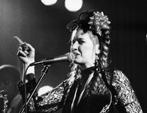 Lene Lovich Stock Photos
