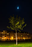 Lene Voigt Park, Leipzig, Alemanha Foto de Stock
