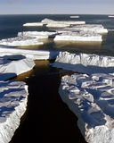 Lengüeta de icebergs Fotografía de archivo libre de regalías