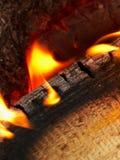 Lengüetas de la llama Fotografía de archivo libre de regalías
