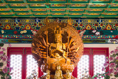 Leng Noei Yi 2 tempel Royaltyfri Bild